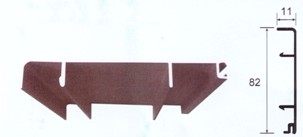 镁钛铝合金地角线