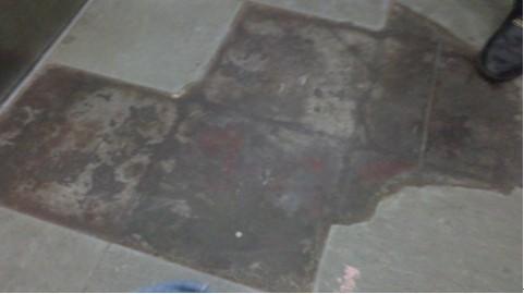 电梯表面已贴过PVC地板的电梯