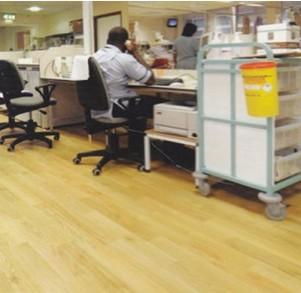 办公室地板工程-雅卓