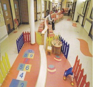 儿童医院地板工程-雅卓