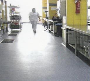 医院厨房地板工程-雅卓