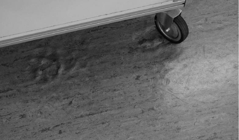 pvc地板压痕