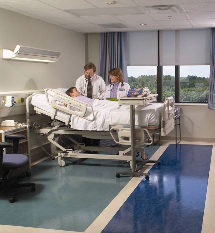 甲级医院都认同的品牌-得嘉PVC地板