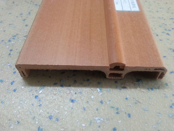 木塑地板正面