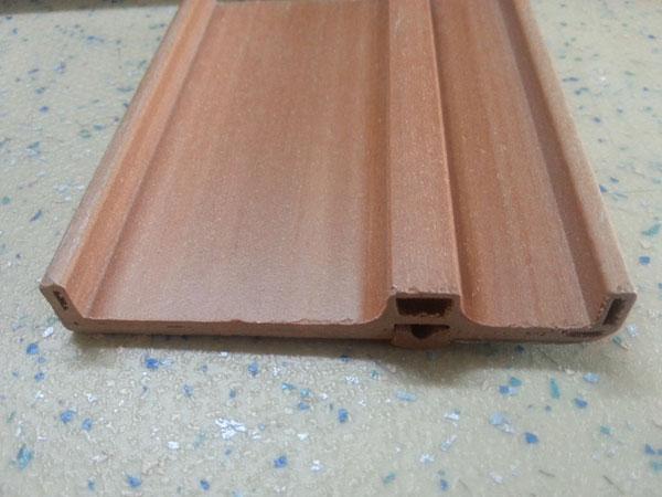 木塑地板背部