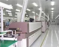 PVC电子厂防静电地板