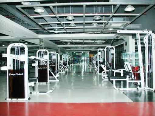 PVC健身房地板