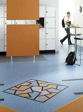 PVC地板的学校地板效果图-高校地板用什么好